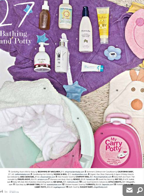 My Carry Potty featured in BC Magazine Fall 2012